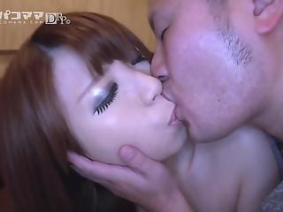 Asian cutie with angelic face likes hardcore banging in the night