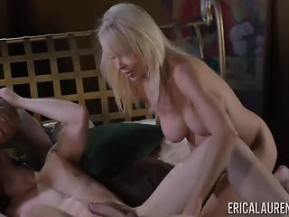 Two extremely hot mature beauties and a very lucky fucker
