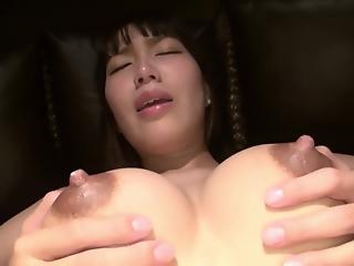 Big-boobed Asian goddess with big boobs likes big dicks
