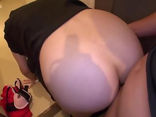 Very hairy Asian pussy gets nicely drilled in POV style XNXX