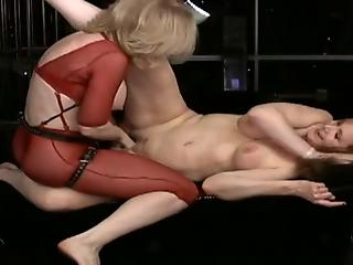 Crazy vaginal fisting featuring two crazy as hell mommies