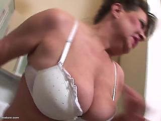 Mature nurses whores are trying hardcore anal fuck in 3some mode