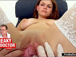 Golden big-boobed lady jumps on a big sausage of her fucker