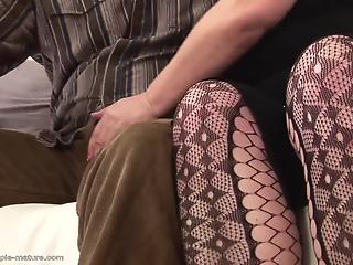 Awesome fat mom with big boobs and hairy crack likes hardcore sex
