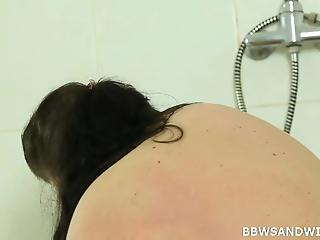 Two amateur BBWs and young man in the craziest threesome XXX