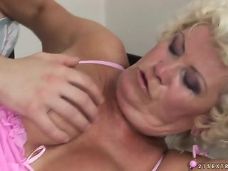 Compilation of dirty matures who love fun with young dicks