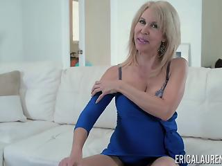 Stunning solo video featuring a very horny granny